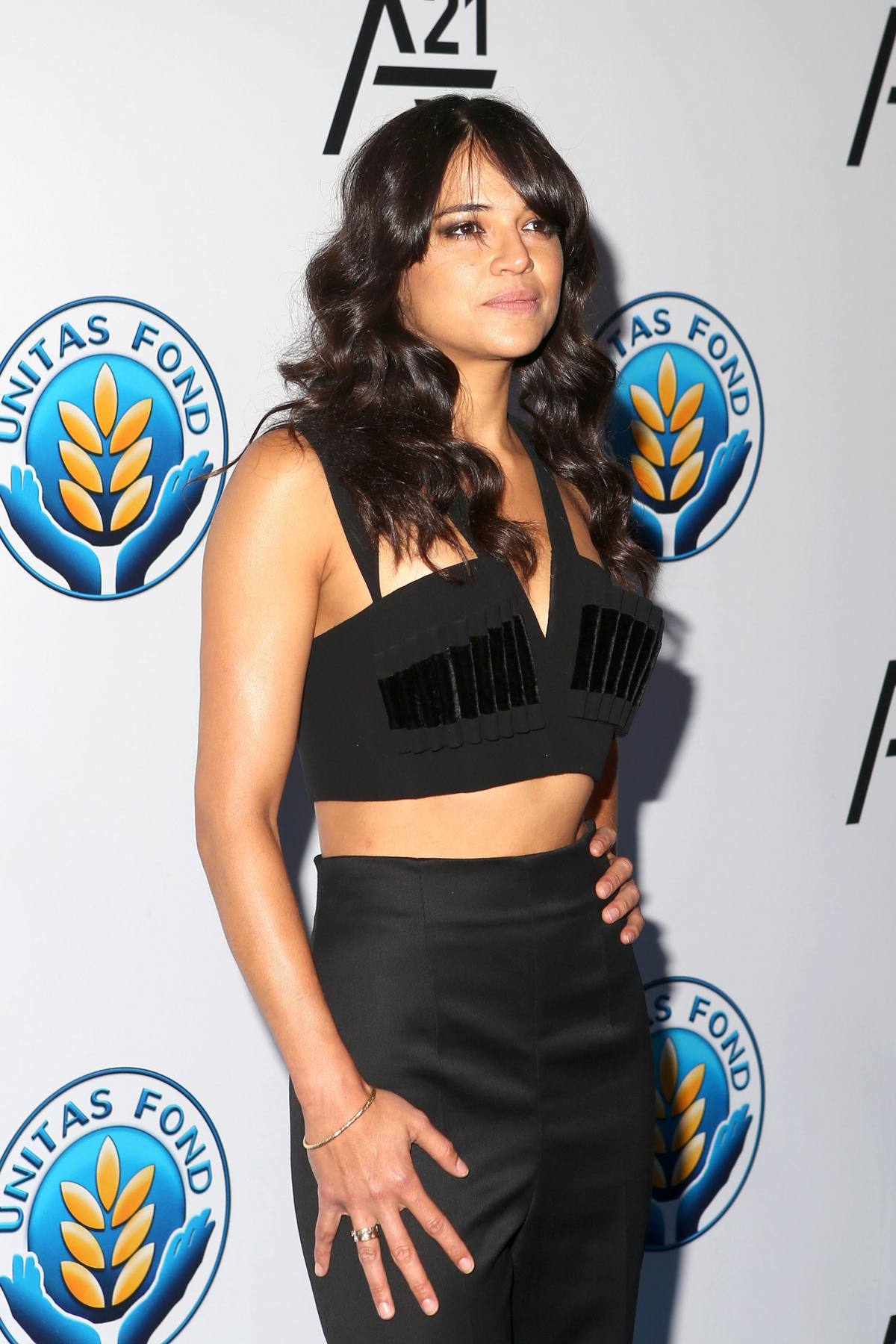 Michelle Rodriguez at UNITAS Hosts First Gala-1