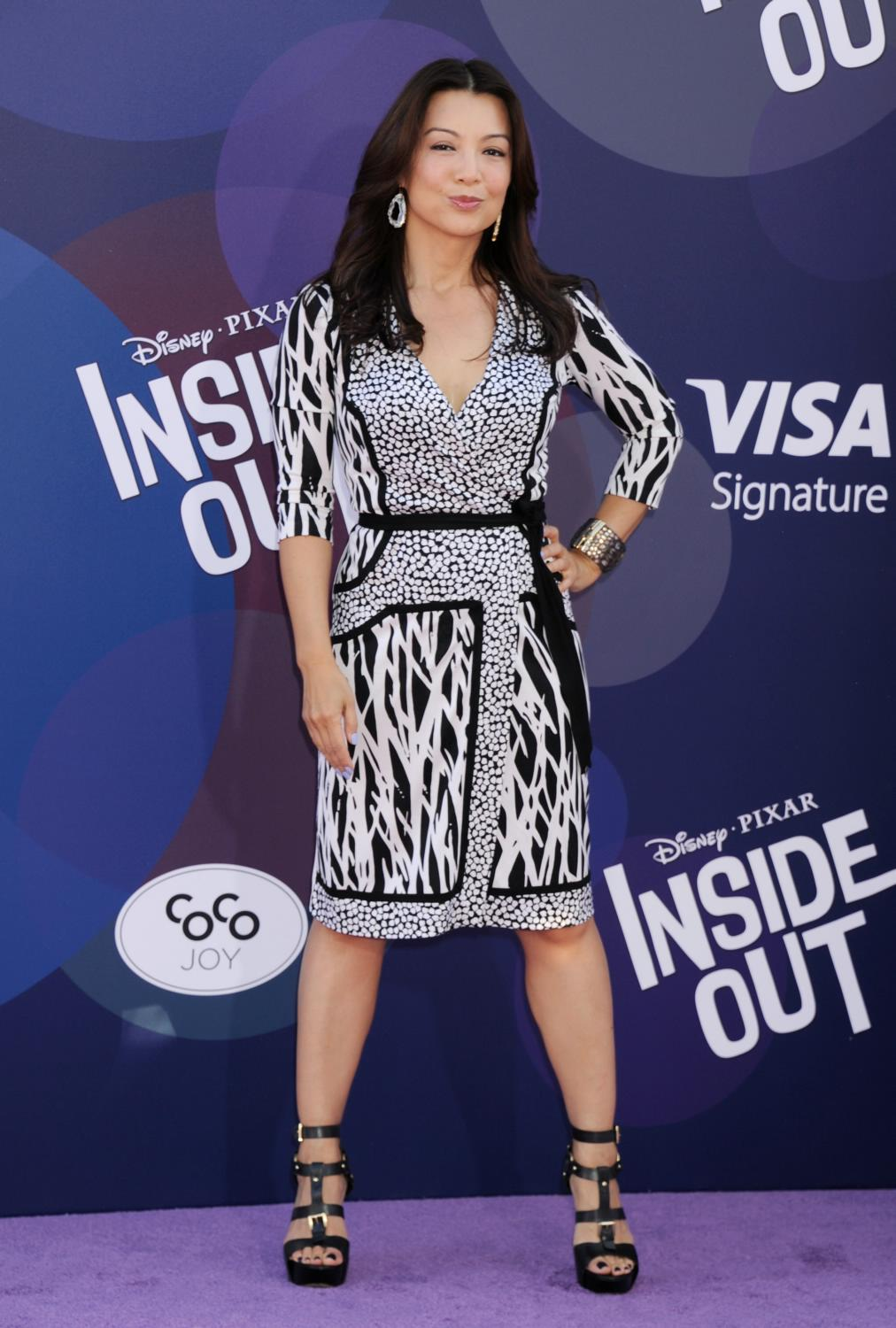 Ming-Na Wen at Inside Out Los Angeles Premiere-3