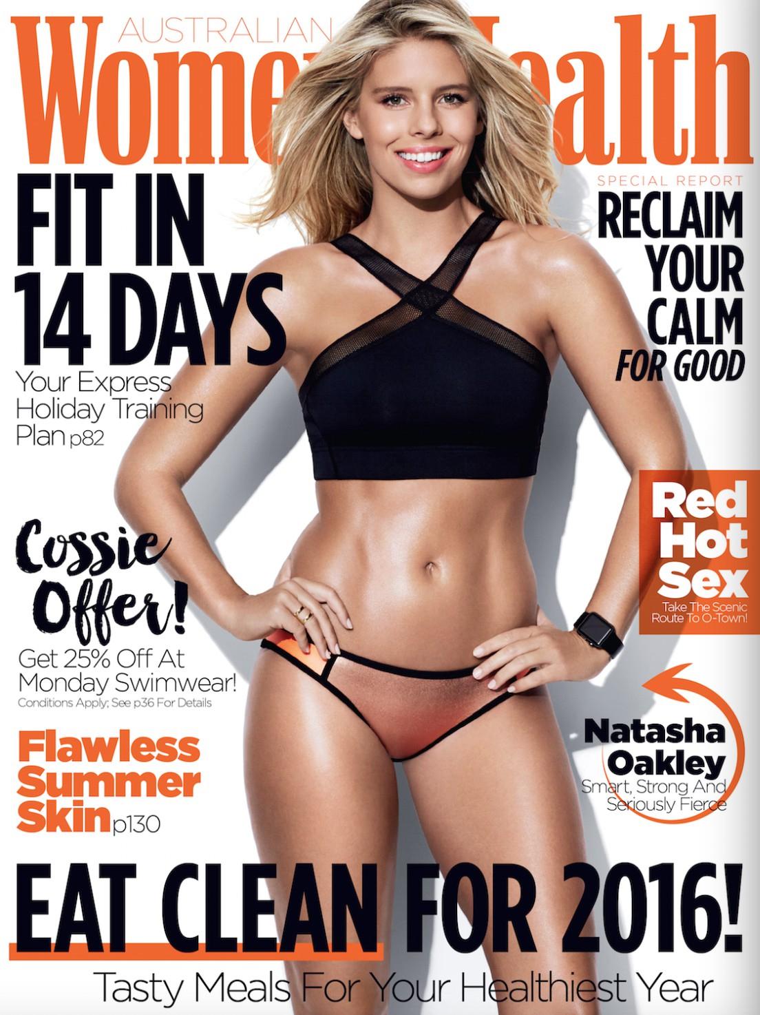 Natasha Oakley Magazine Scans