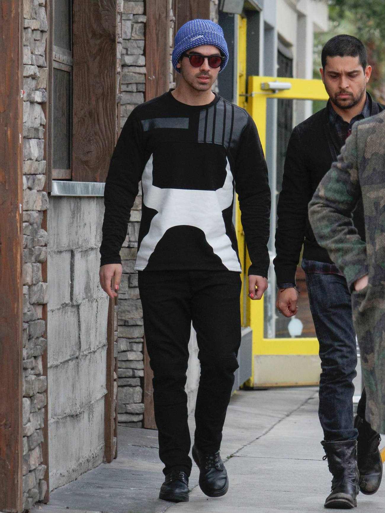 Nick Jonas and Joe Jonas Out in LA-1