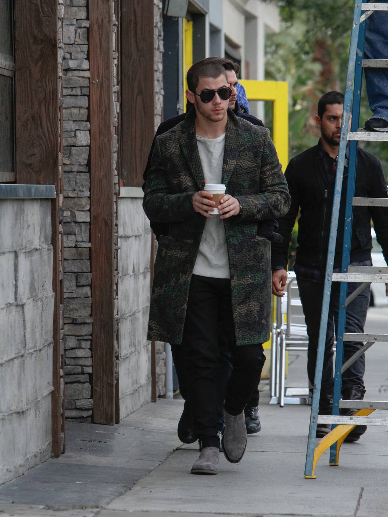 Nick Jonas and Joe Jonas Out in LA-2