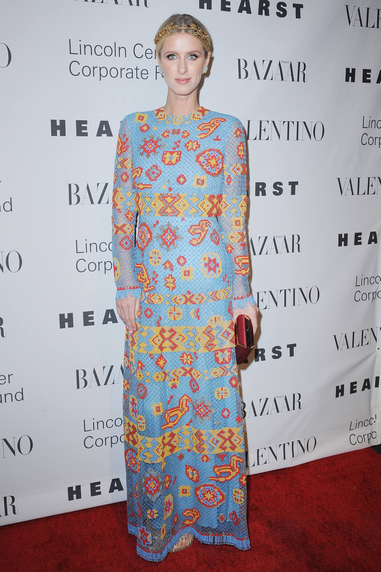 Nicky Hilton arrives at An Evening Honoring Valentino Lincoln Center Corporate Fund Gala-1