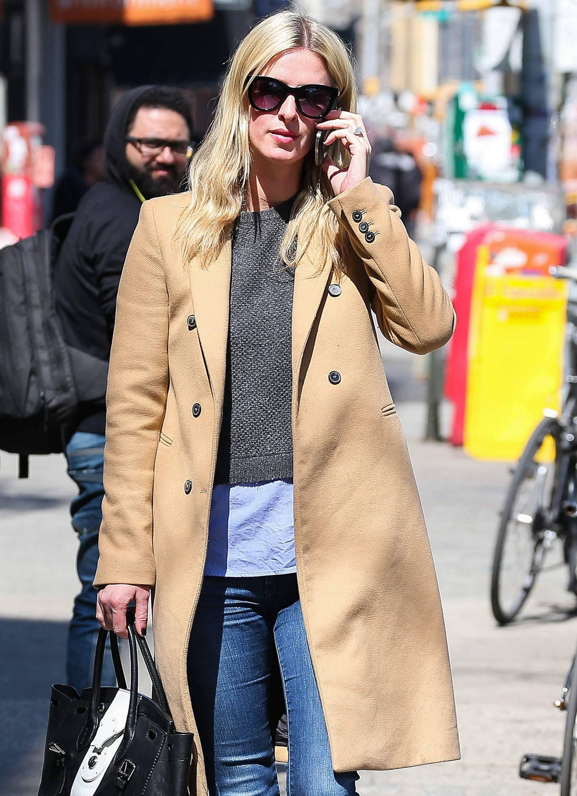 Nicky Hilton Steps Out in NYC-1