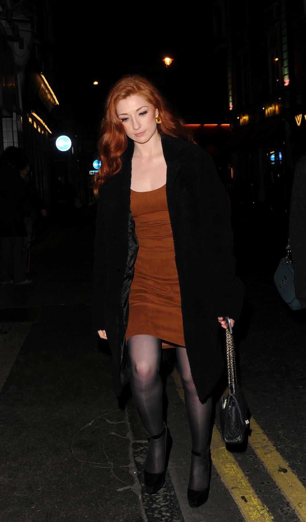 Nicola Roberts Arrives at Kill Your Friends After Party