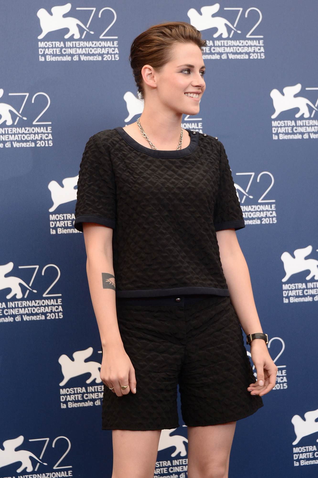 Nicolas Hoult and Kristen Stewart Arrive at Equals Venices Photocall-3
