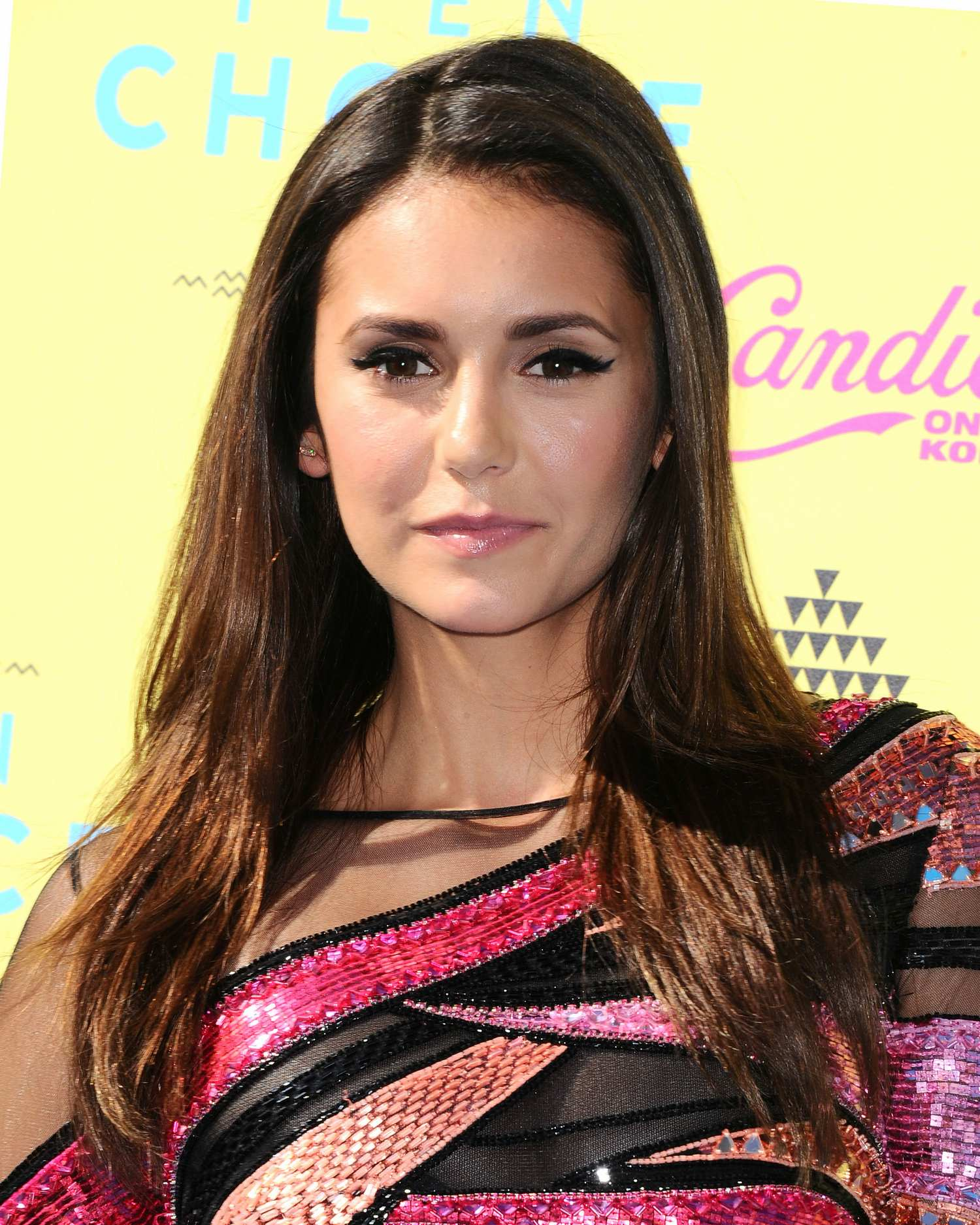 Nina Dobrev at Teen Choice Awards-1