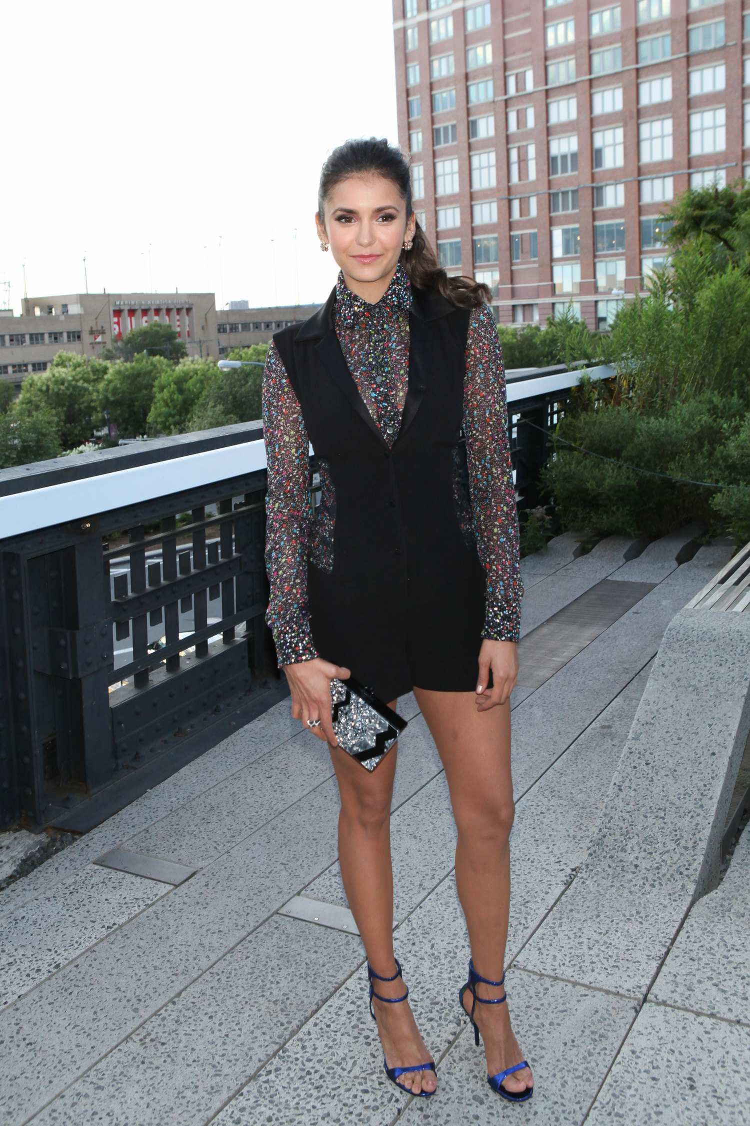 Nina Dobrev ate People StyleWatch x Revolve Fall Fashion Party-1