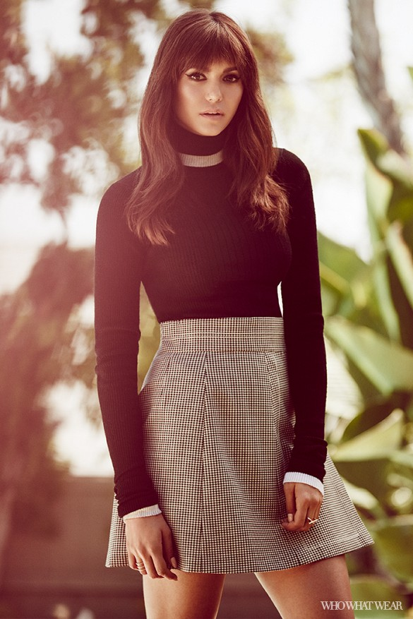 Nina Dobrev for Who What Wear Photoshoots-1