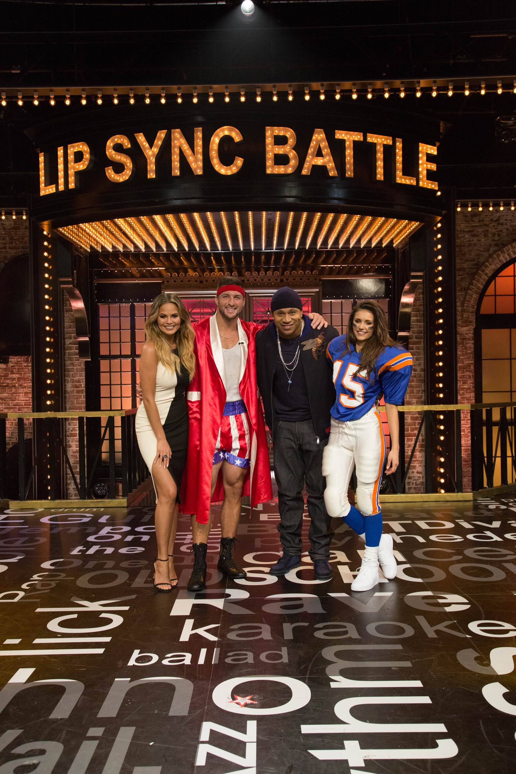 Nina Dobrev on Lip Sync Battle Season Episode-1