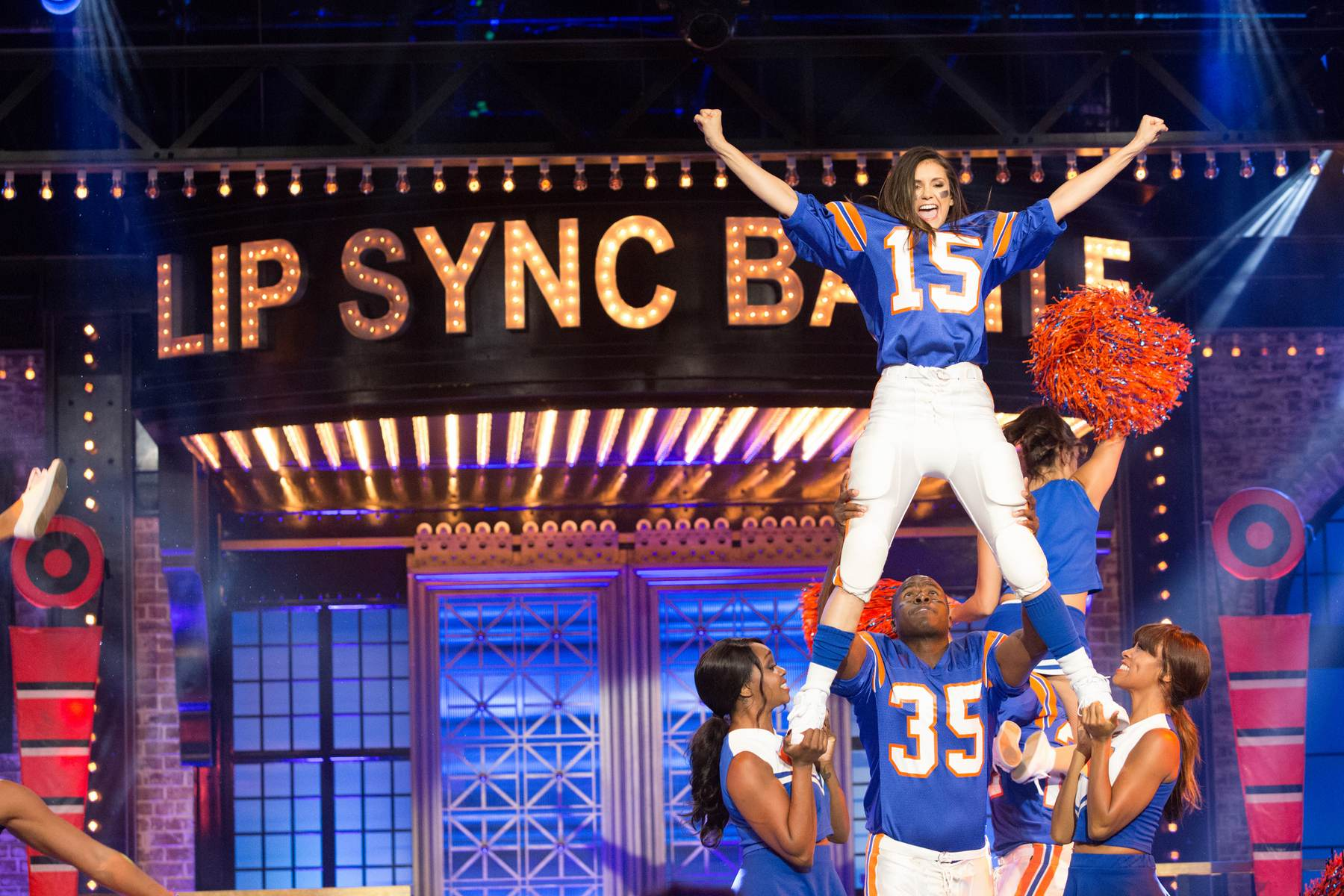 Nina Dobrev on Lip Sync Battle Season Episode-3