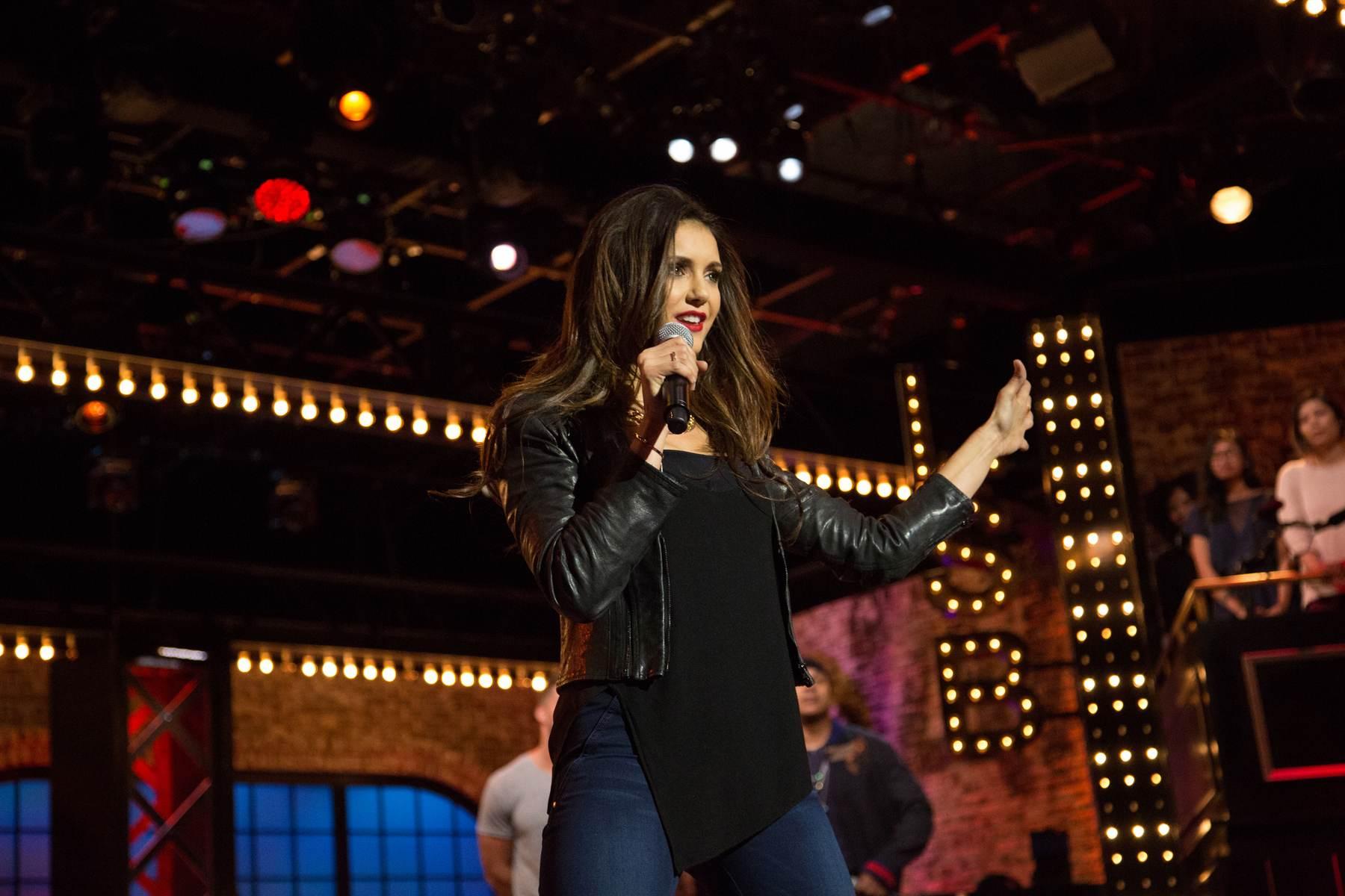 Nina Dobrev on Lip Sync Battle Season Episode-4