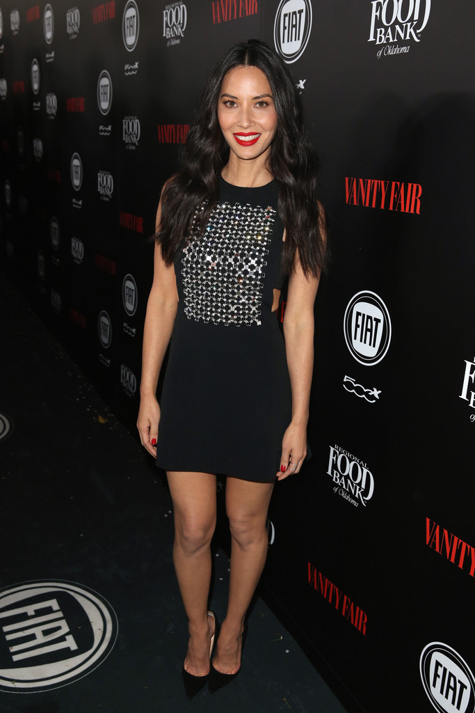 Olivia Munn arrives at Vanity Fair and Fiat Young Hollywood Celebrationrd-1