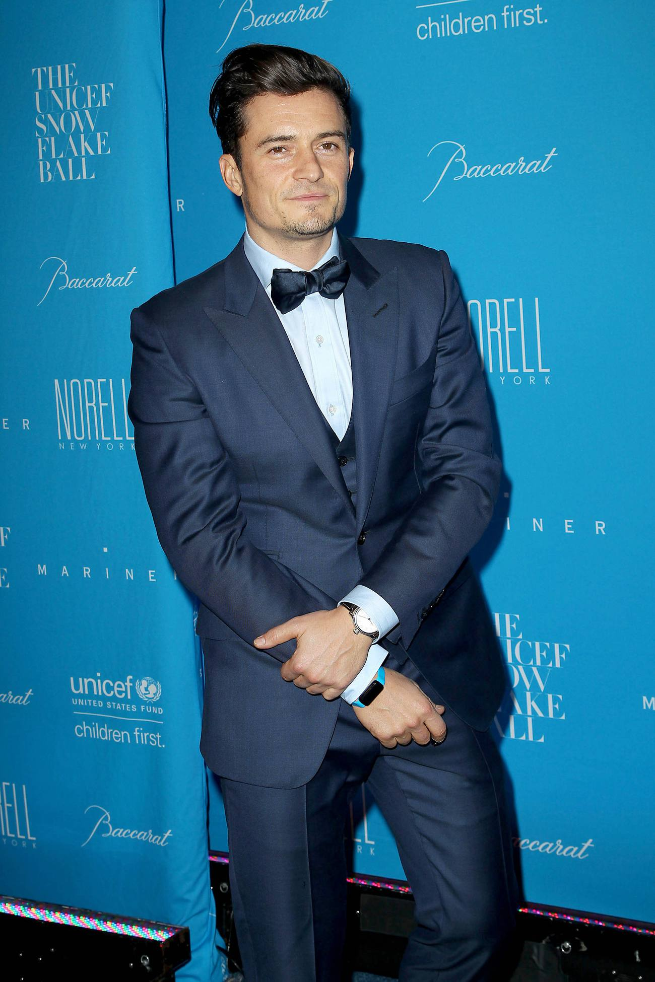 Orlando Bloom arrives at UNICEF Snowflake Ball-1