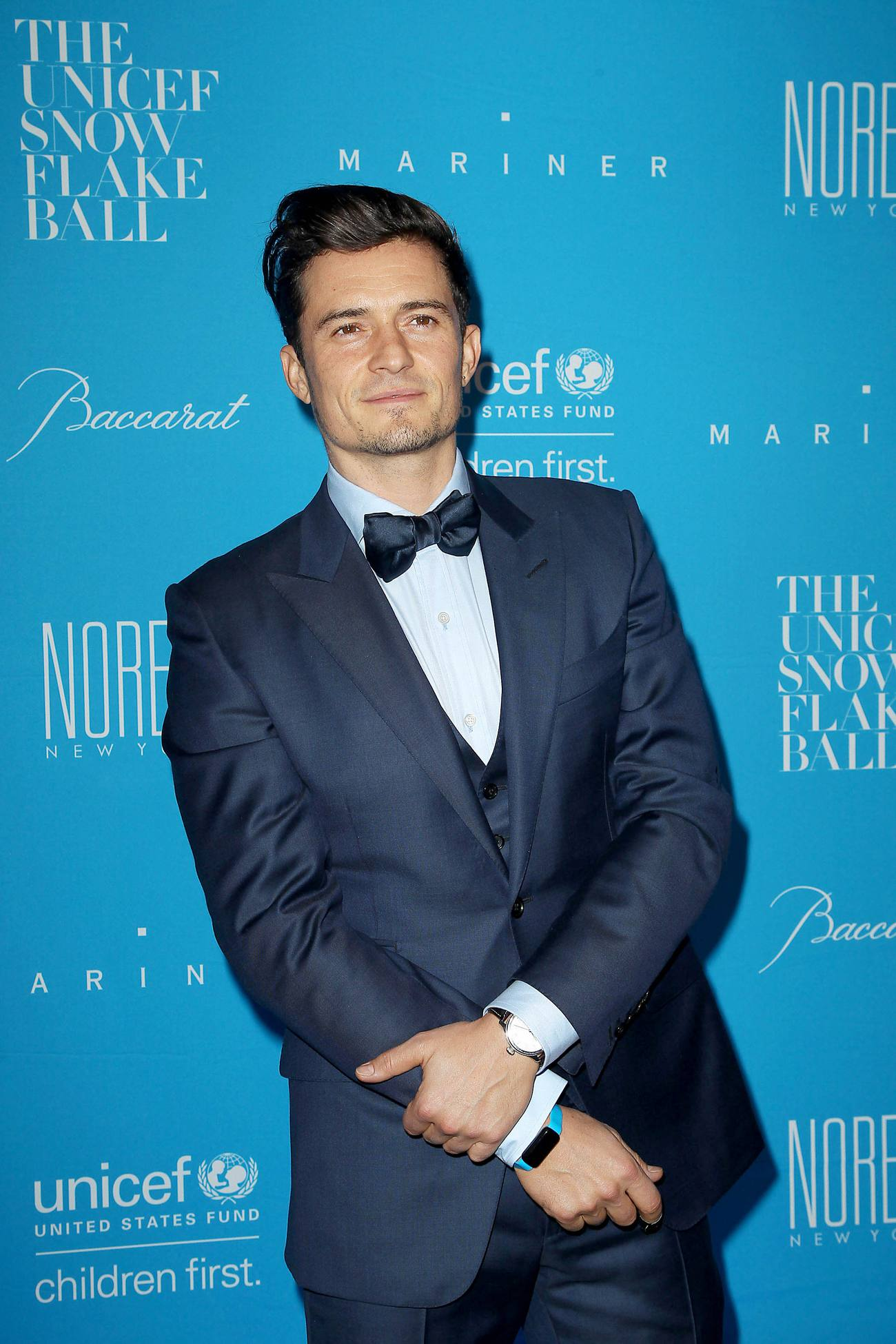 Orlando Bloom arrives at UNICEF Snowflake Ball-3
