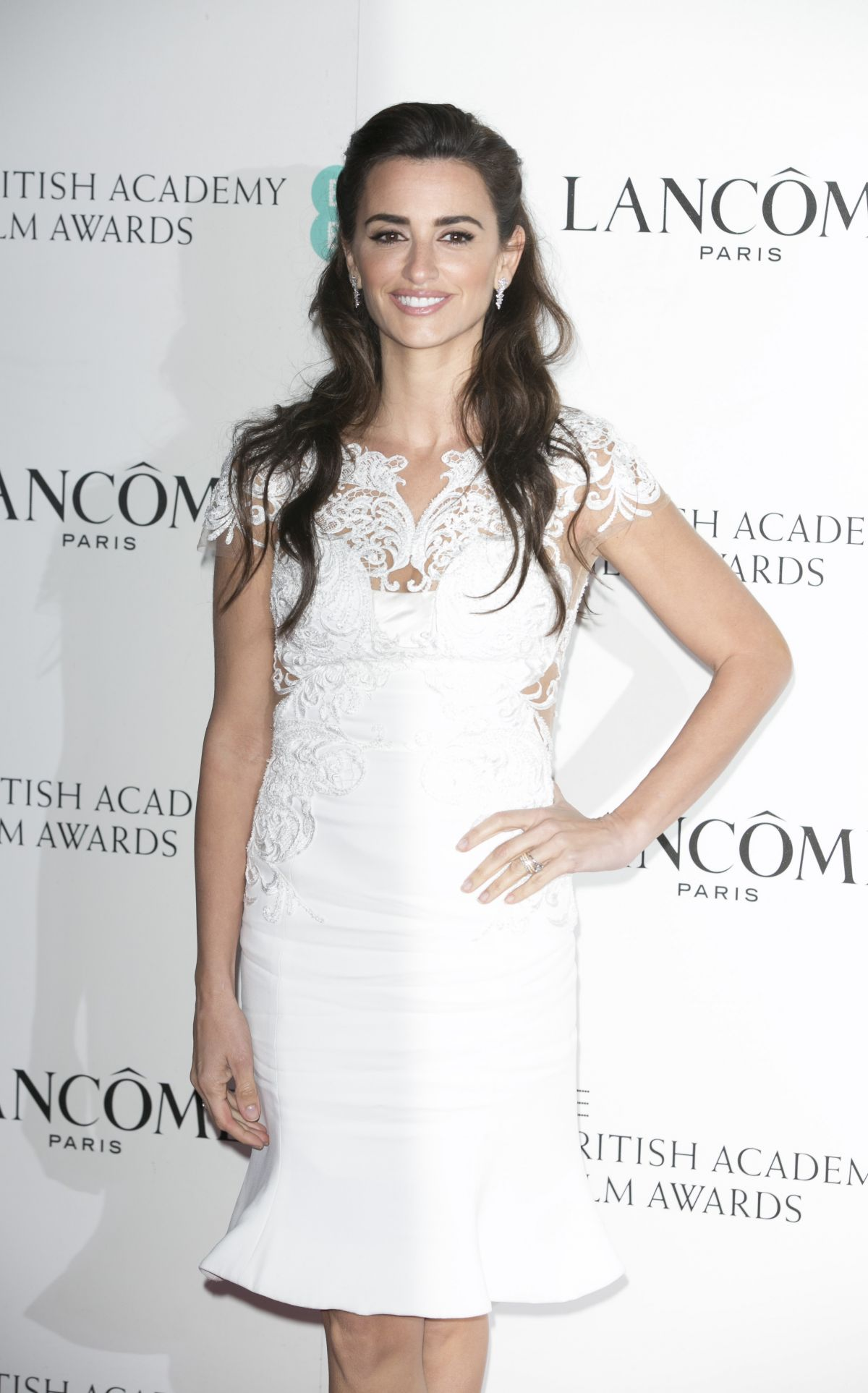 Penelope Cruz arrives at Lancome BAFTA Nominees Party in London-1