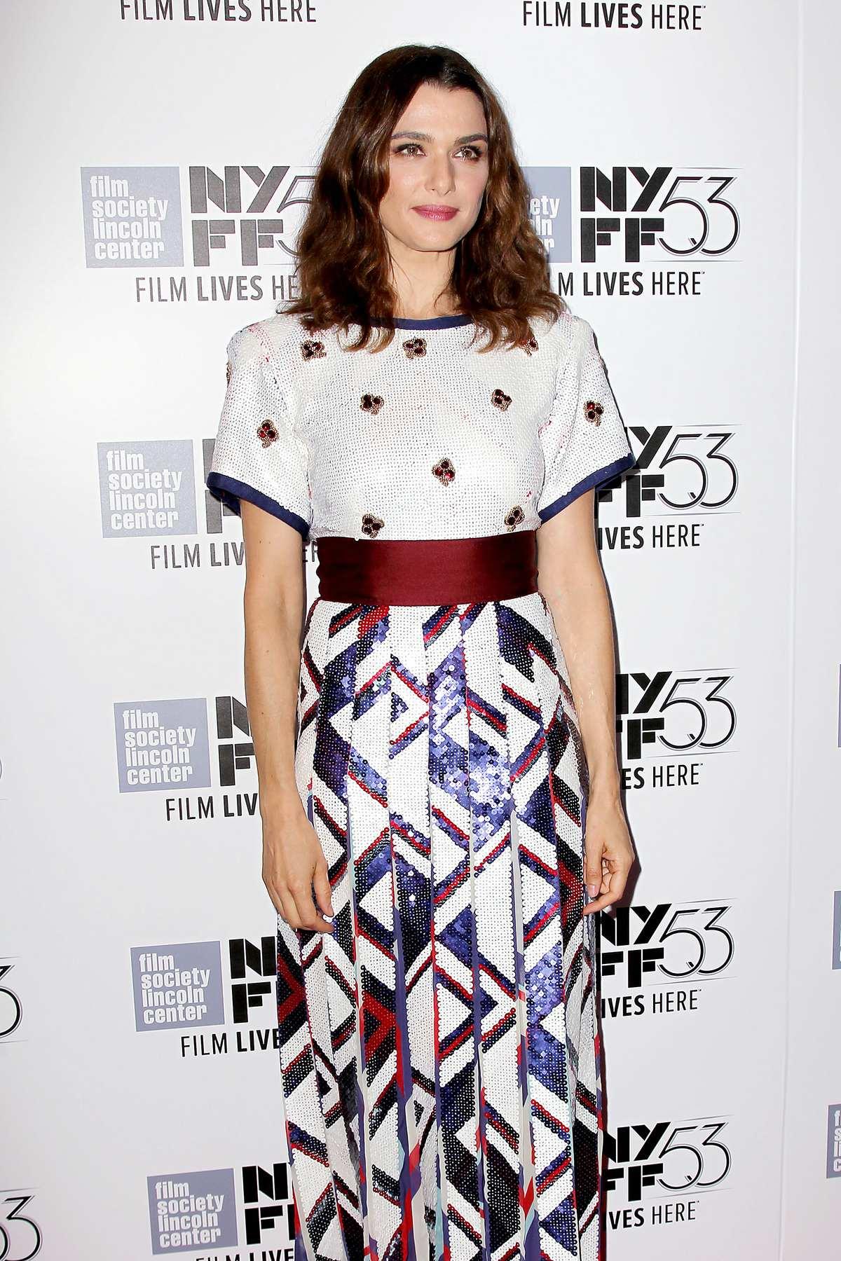 Rachel Weisz at NYFF The Martian Red Carpet-1
