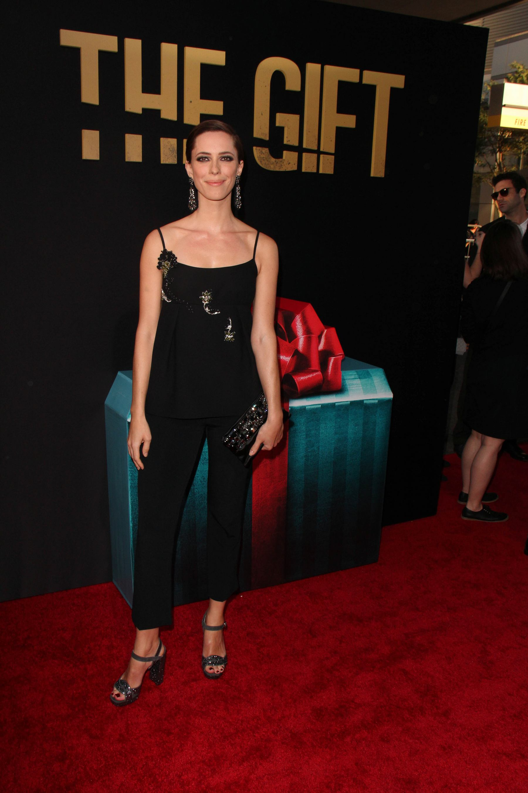 Rebecca Hall at The Gift Premiere