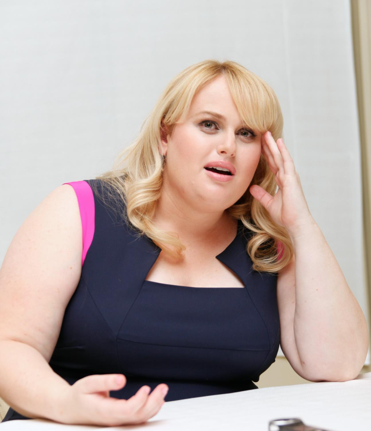 Rebel Wilson Pitch Perfect Press Conference-2