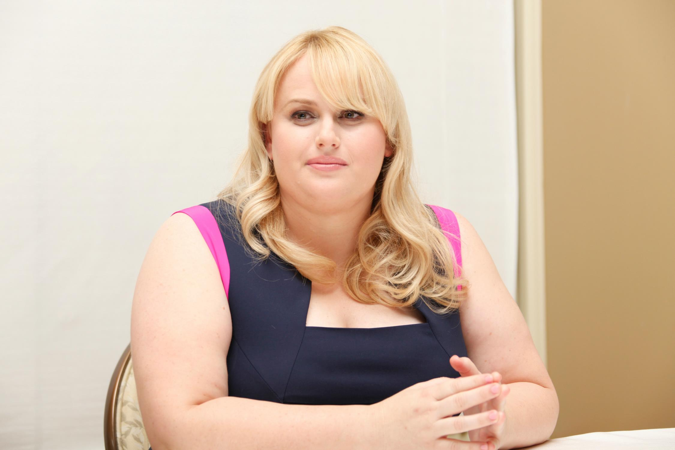 Rebel Wilson Pitch Perfect Press Conference-4