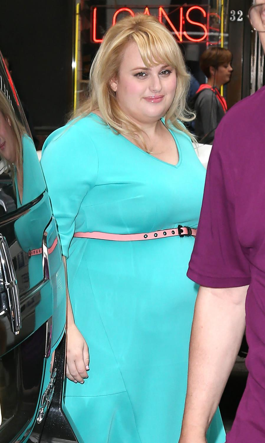 Rebel Wilson visits NBC Studios For Pitch Perfect-1