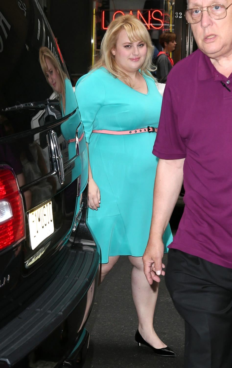 Rebel Wilson visits NBC Studios For Pitch Perfect-2