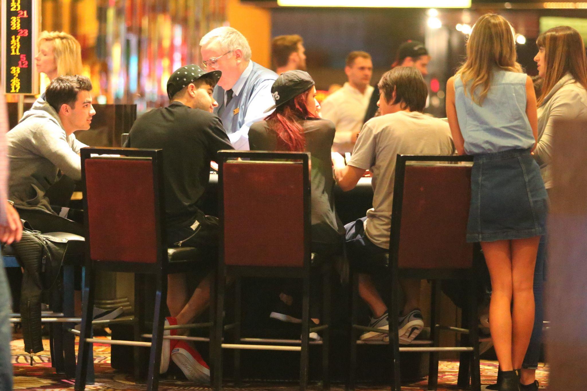 Rita Ora Joins Joe Jonas in Las Vegas-2