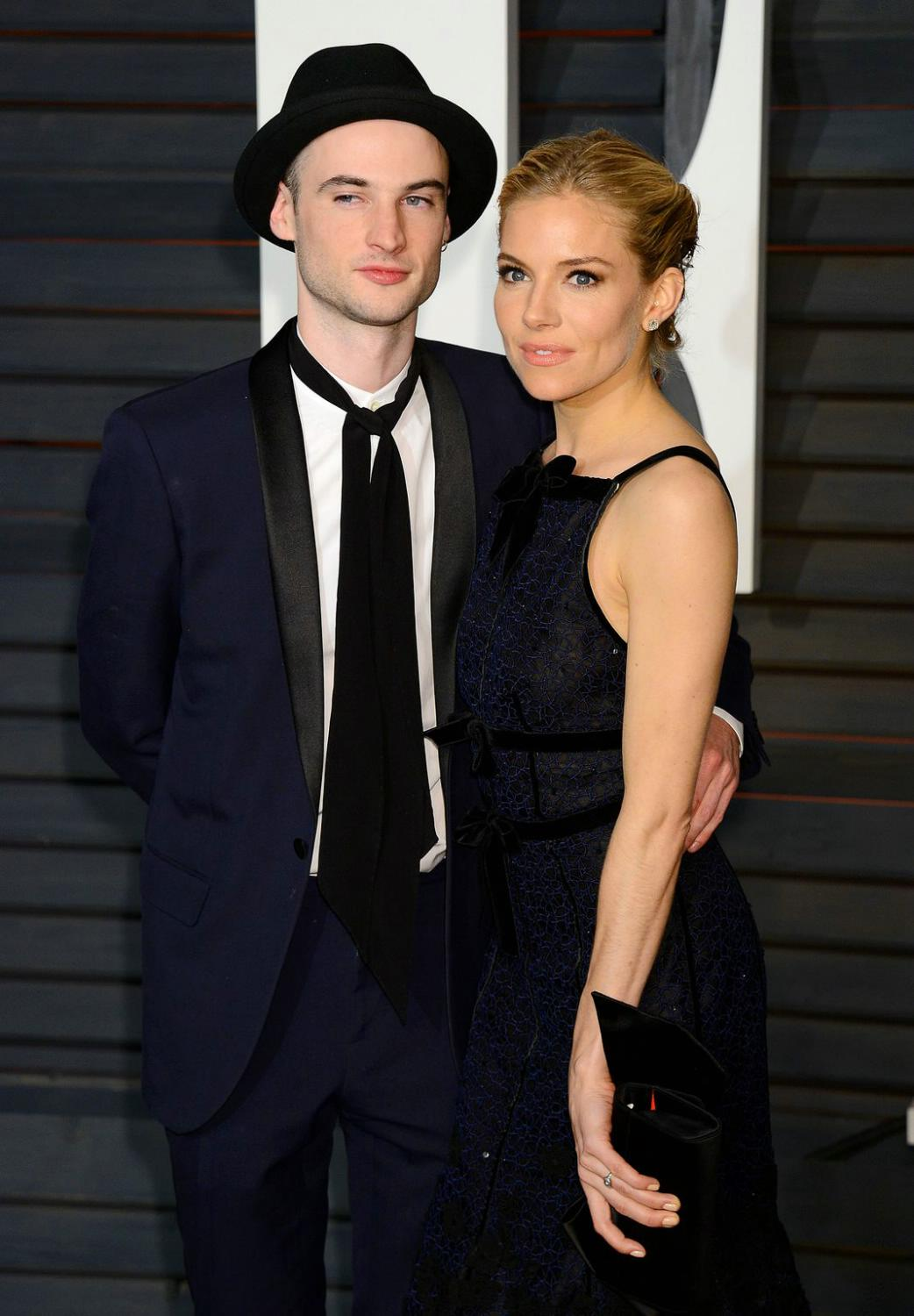 Robert Pattinson with Sienna-Miller and Tom Sturridge attends Vanity Fair Oscar Party-4