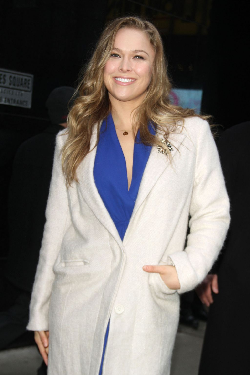 Ronda Rousey at ABCs Good Morning America-1