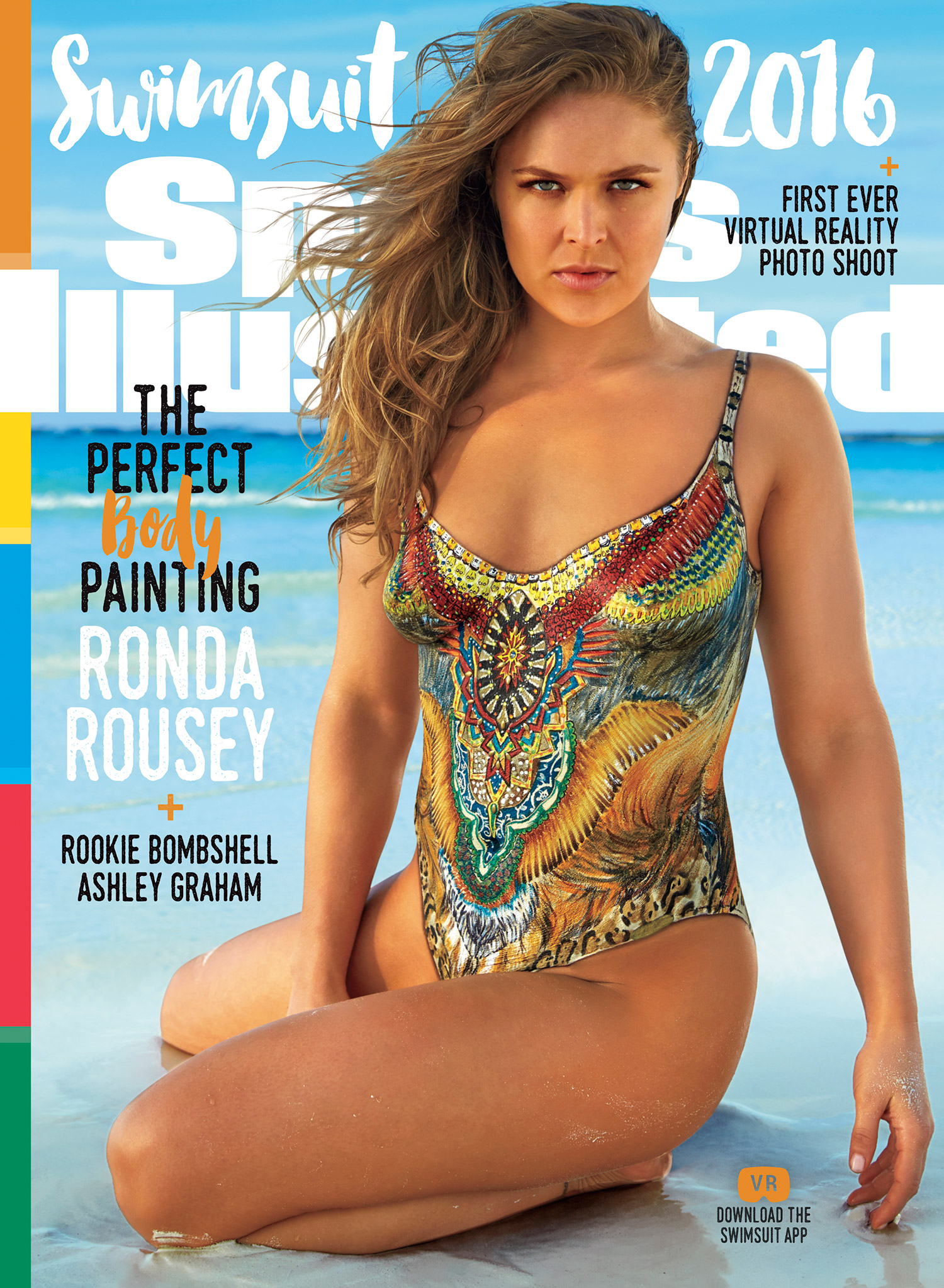 Ronda Rousey for Sports Illustrated Swimsuit Edition-1