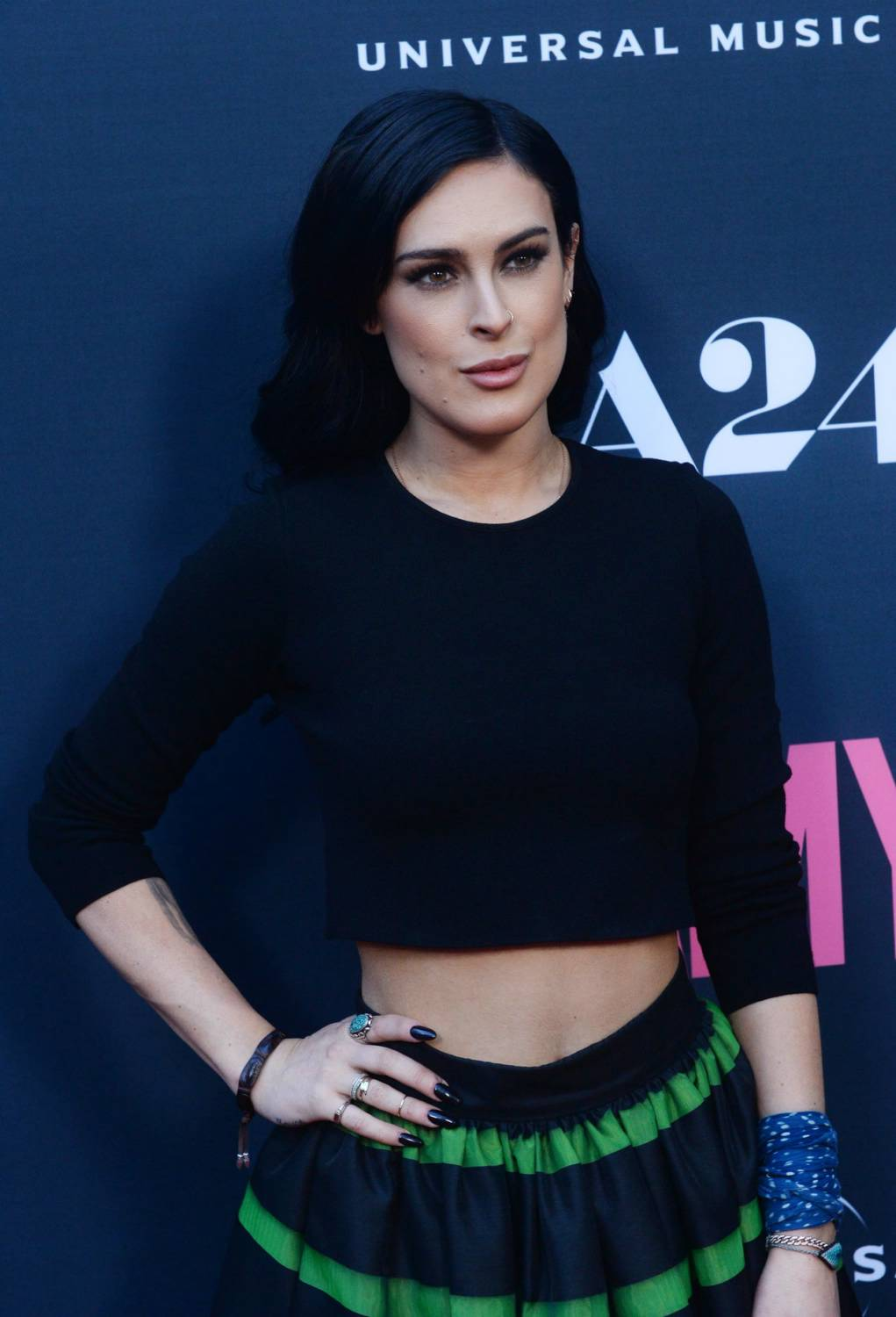 Rumer Willis at Amy at Arclight Cinerama Dome-1