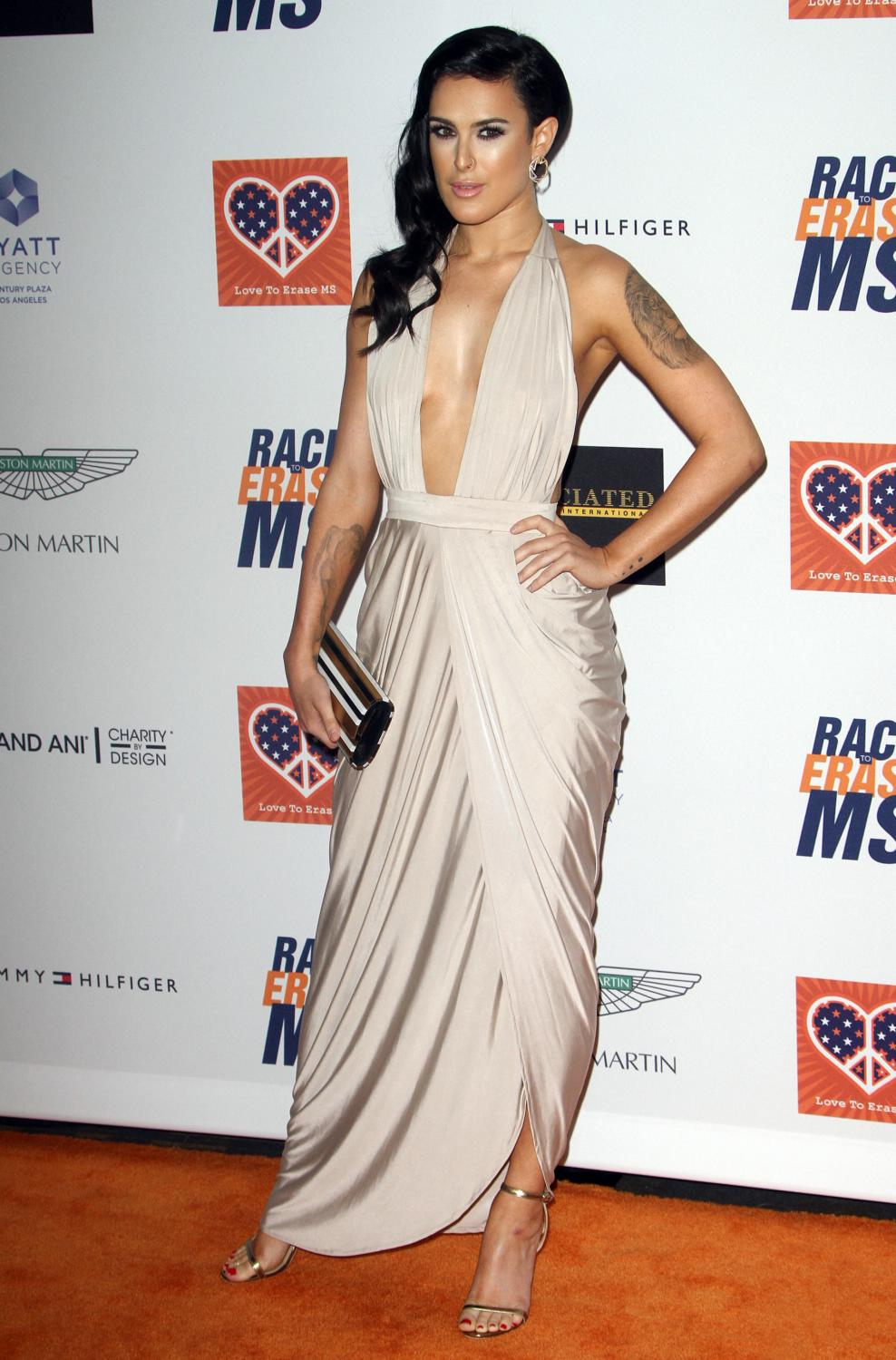 Rumer Willis at The Annual Race To Erase MS Event-1