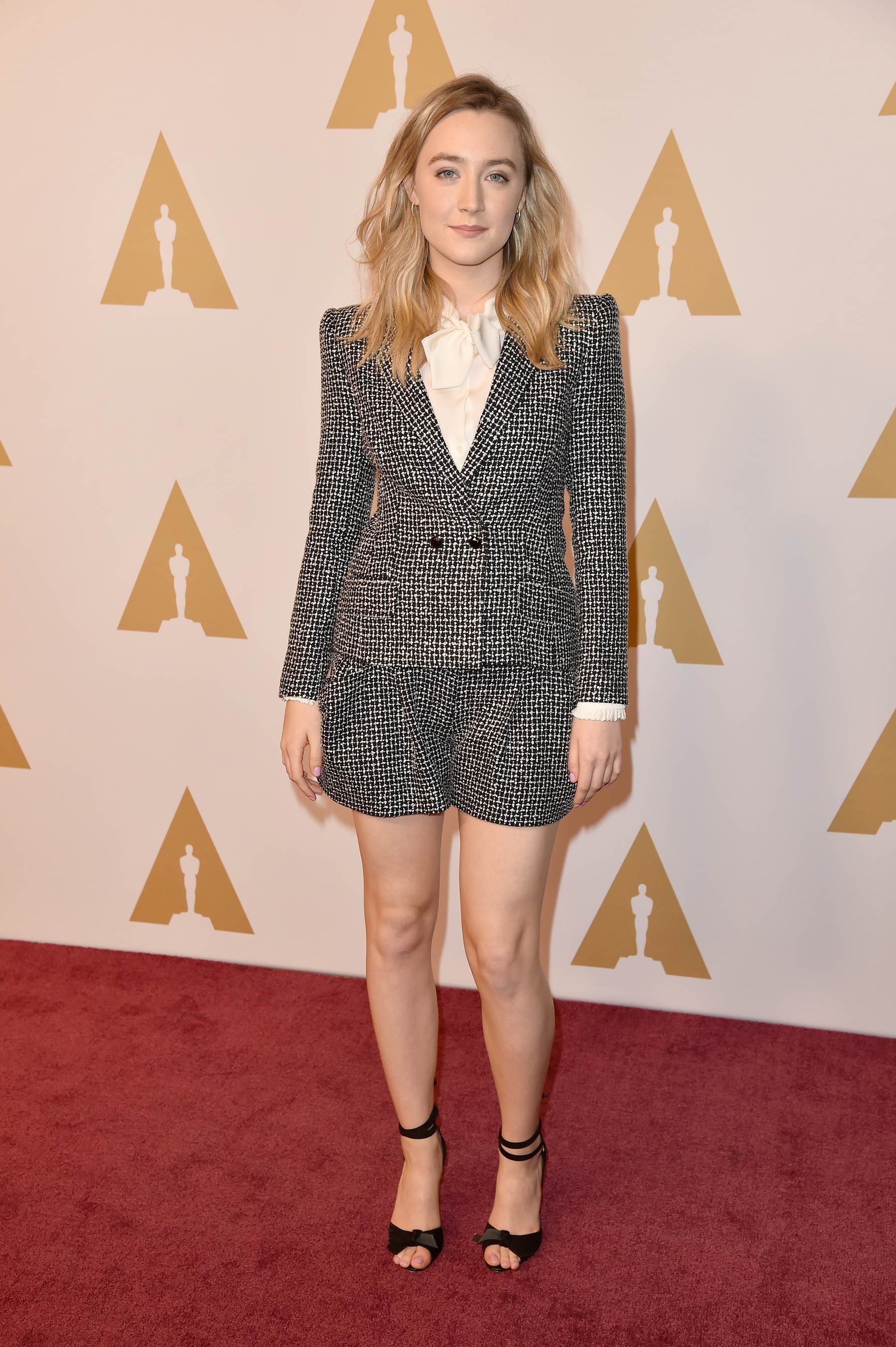 Saoirse Ronan arrives at Annual Academy Awards Nominee Luncheon-1