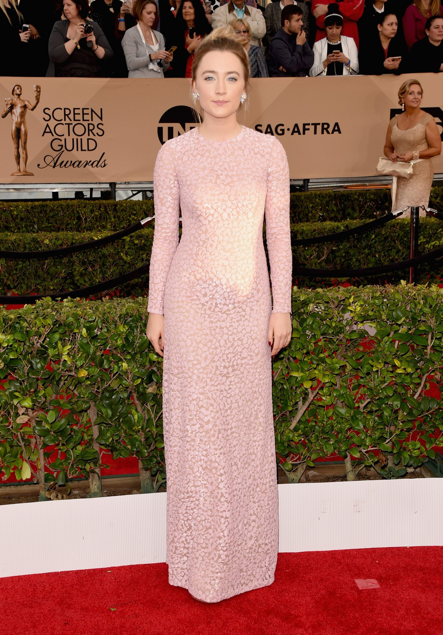 Saoirse Ronan attendse Annual Screen Actors Guild Awards-1
