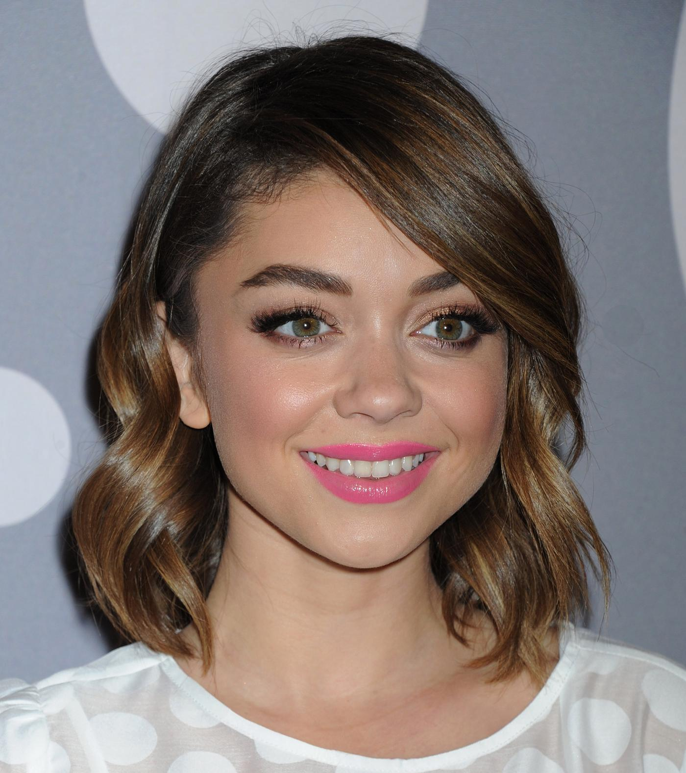 Sarah Hyland arrives at Minnie Mouse Rocks The Dots Art and Fashion Exhibit Jan nd-2