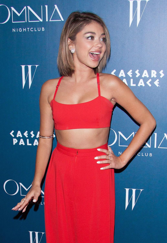 Sarah Hyland attendse grand opening weekend at Omnia Nightclub-3