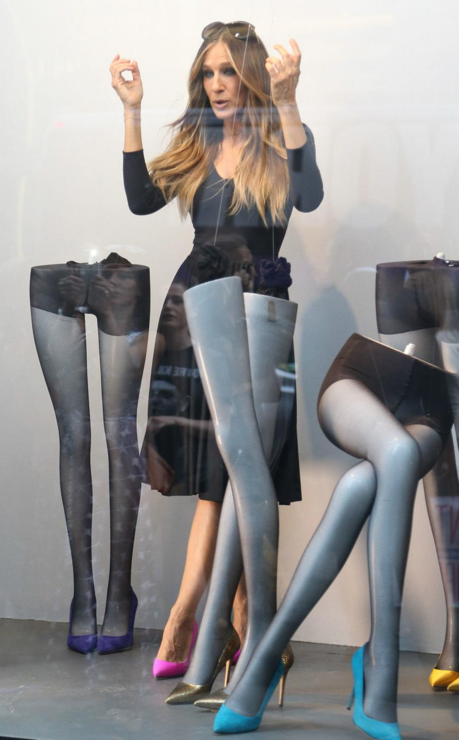 Sarah Jessica Parker Does Photoshoot for her Shoe Line-4