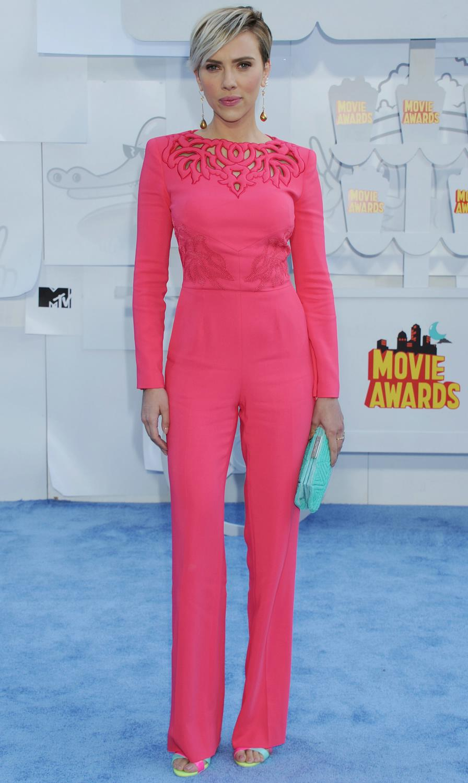 Scarlett Johansson at The MTV Movie Awards-3