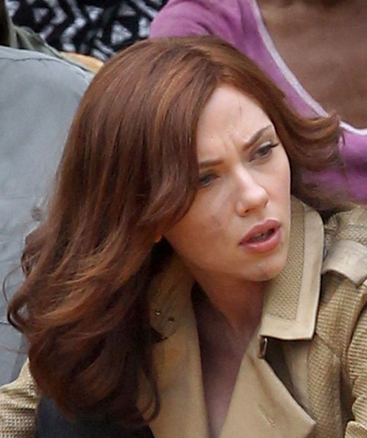 Scarlett Johansson Films Captain America: Civil War-3