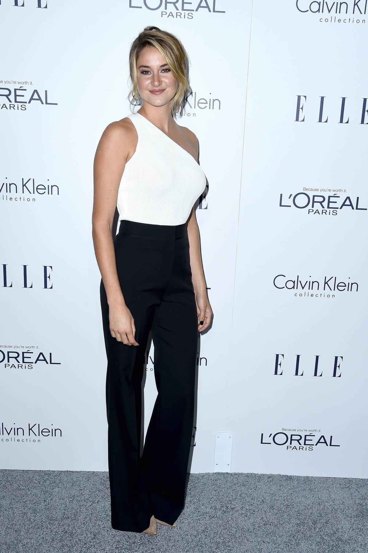 Shailene Woodley attendse Annual ELLE Women in Hollywood Awards-1