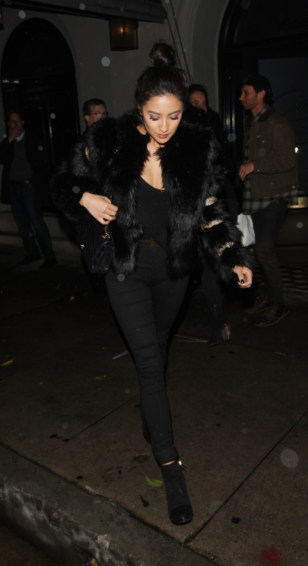 Shay Mitchell leaves Craigs in West Hollywood Dec-4