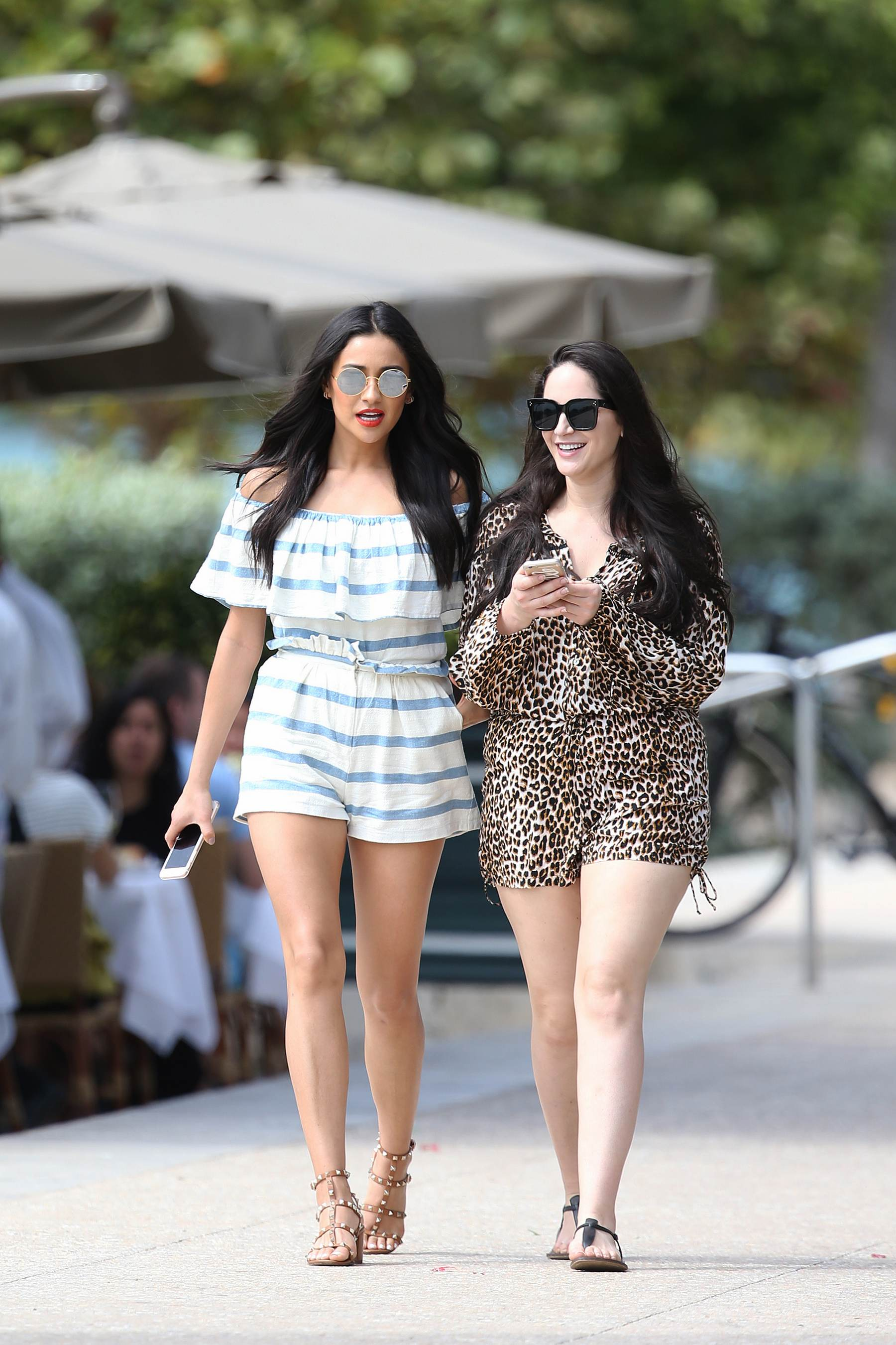 Shay Mitchell seen filming for Hawaiian Tropic Sunscreen in Miamist-2