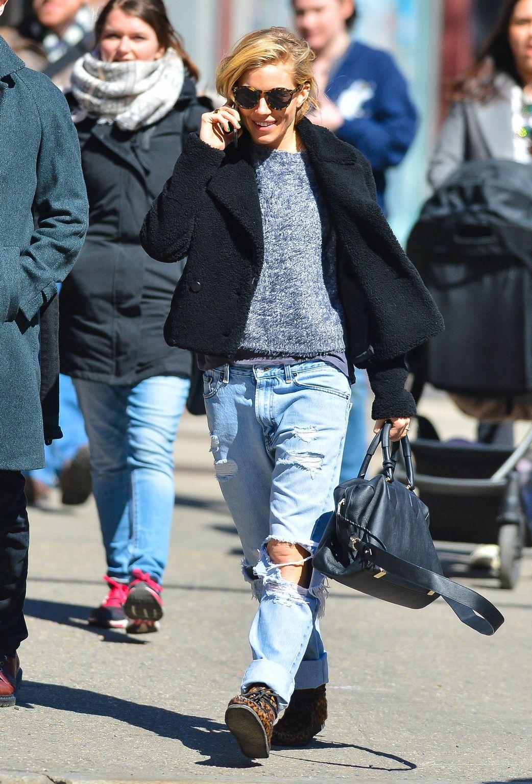 Sienna Miller and Tom Sturridge in New York City-1