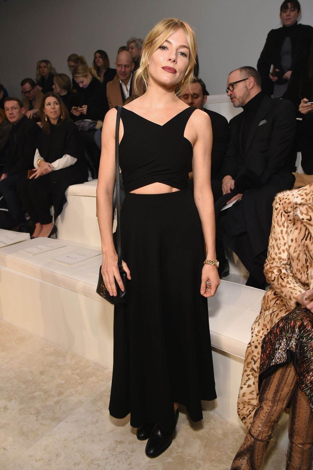 Sienna Miller arrives at Ralph Lauren Fashion-1