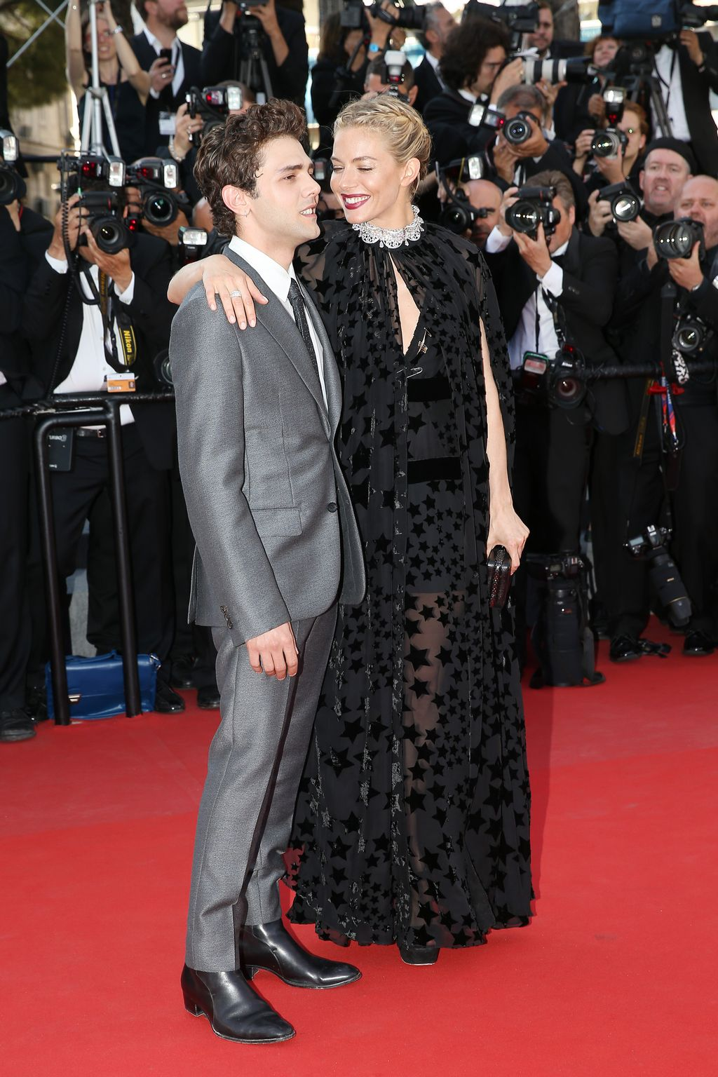 Sienna Miller, Xavier Dolan and Jake Gyllenhaal at annual Cannes Film Festival Carol Premiere-2