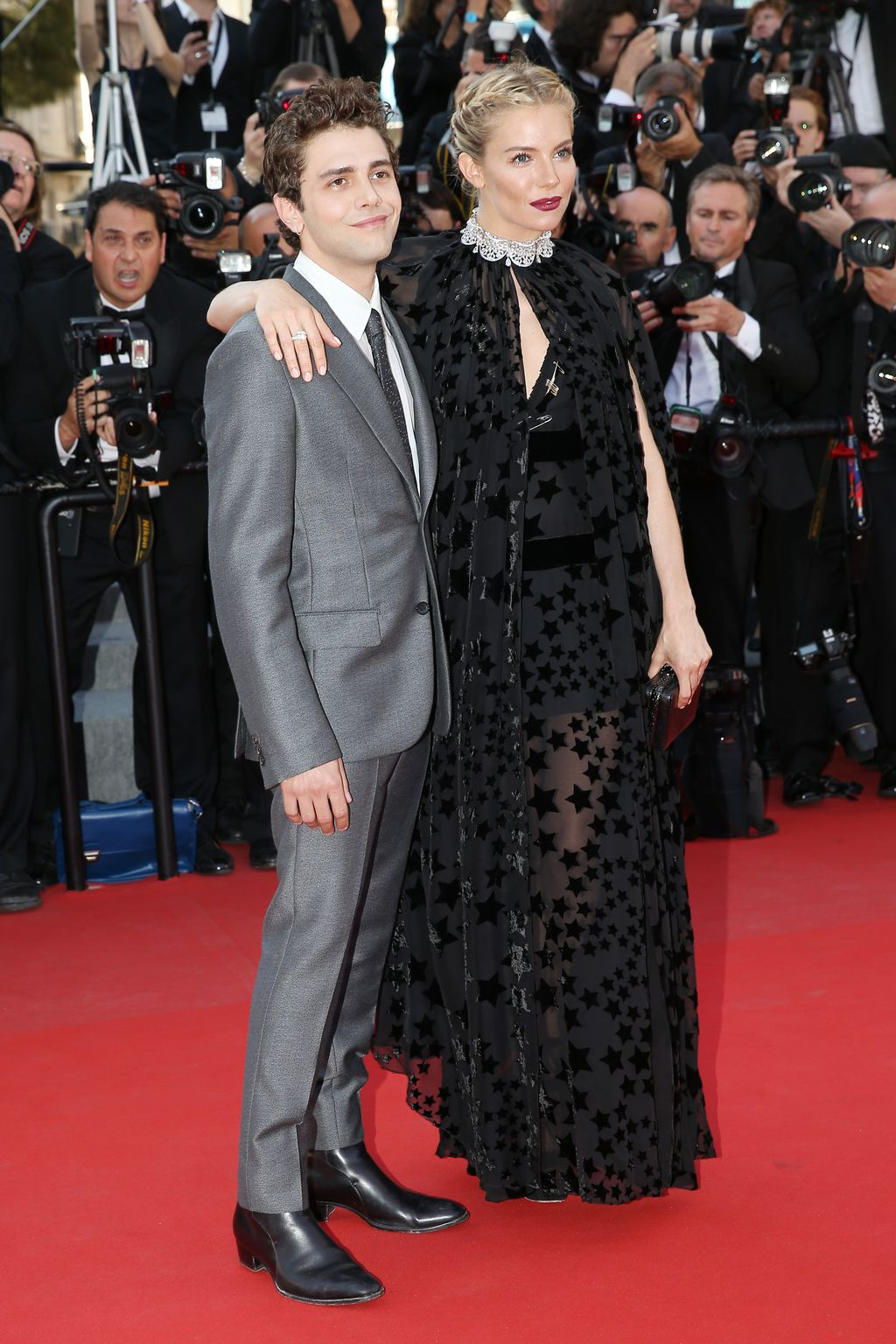 Sienna Miller, Xavier Dolan and Jake Gyllenhaal at annual Cannes Film Festival Carol Premiere-3
