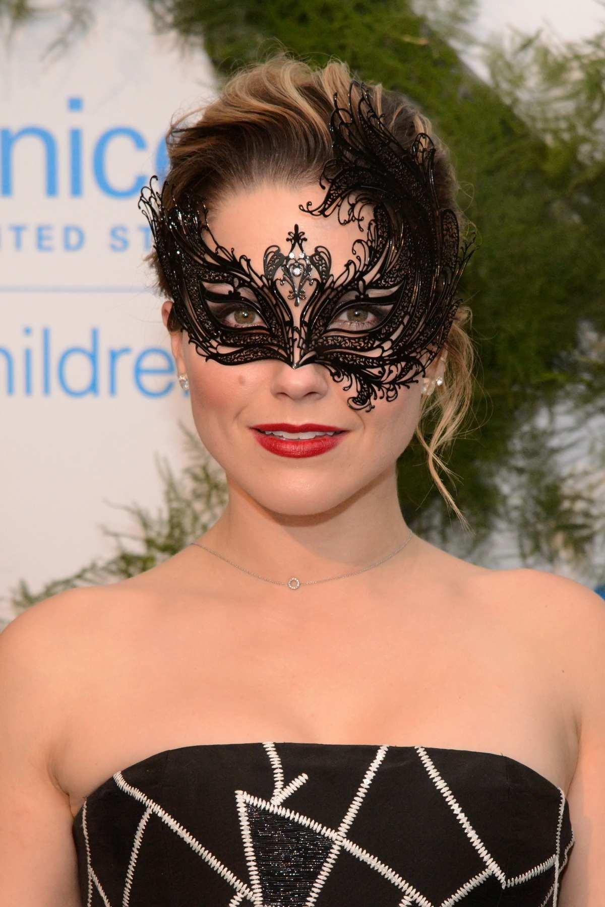Sophia Bush Attends UNICEF Neverland Masquerade Ball-2