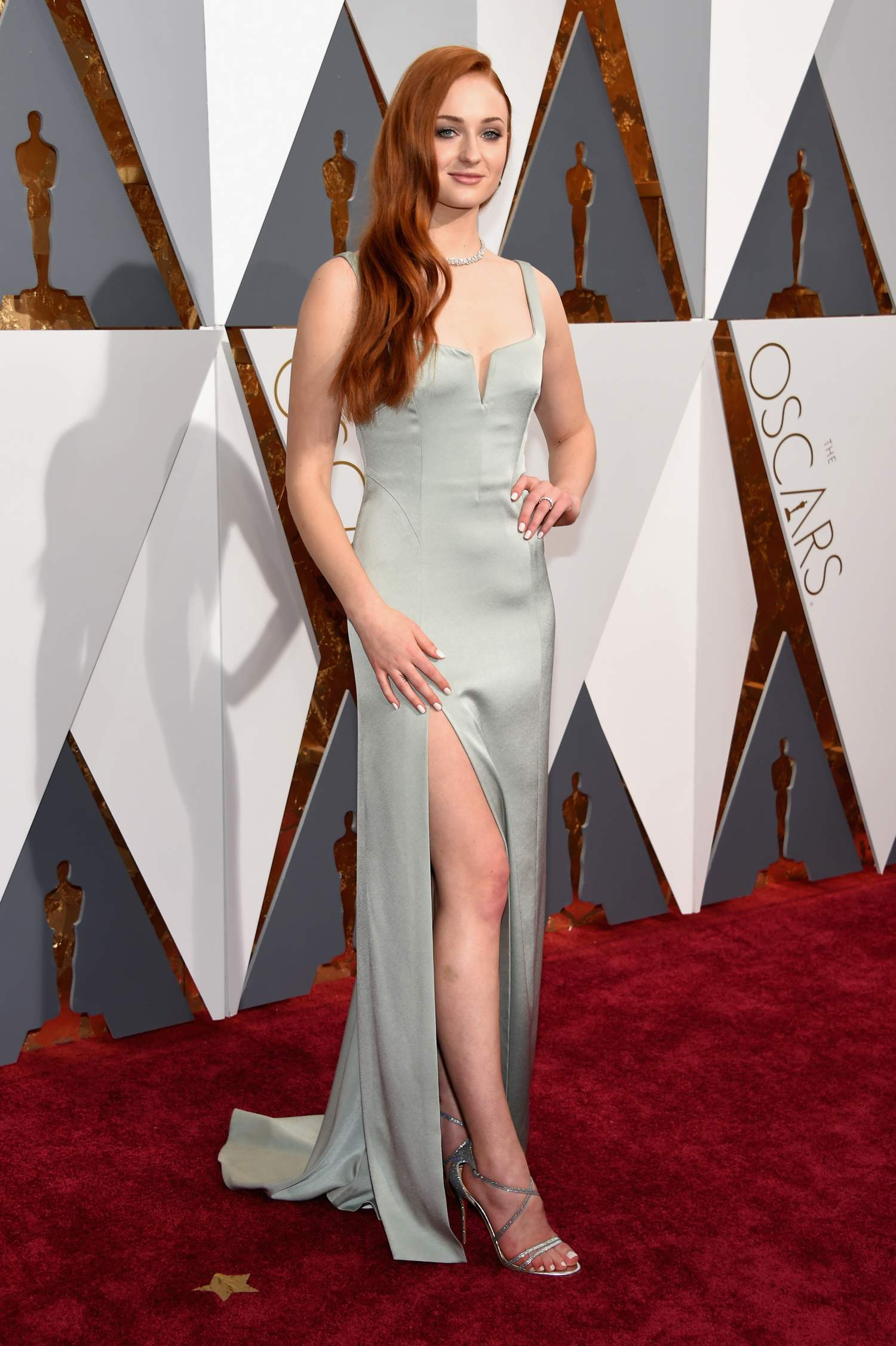 Sophie Turner at Annual Academy Awards-1