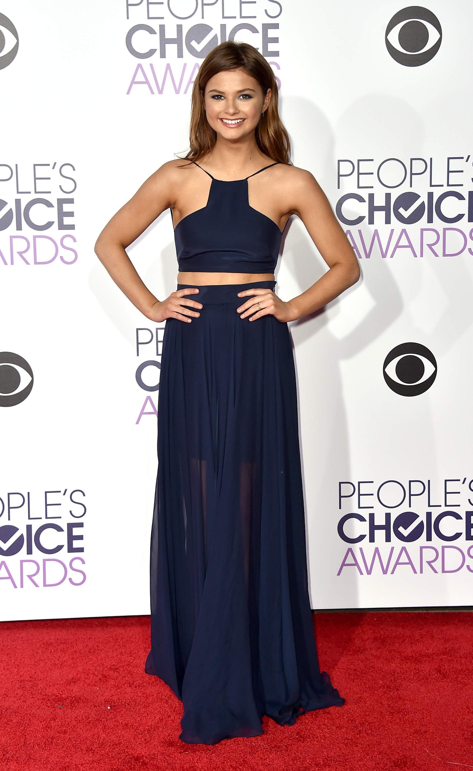 Stefanie Scott at Peoples Choice Awards on-1