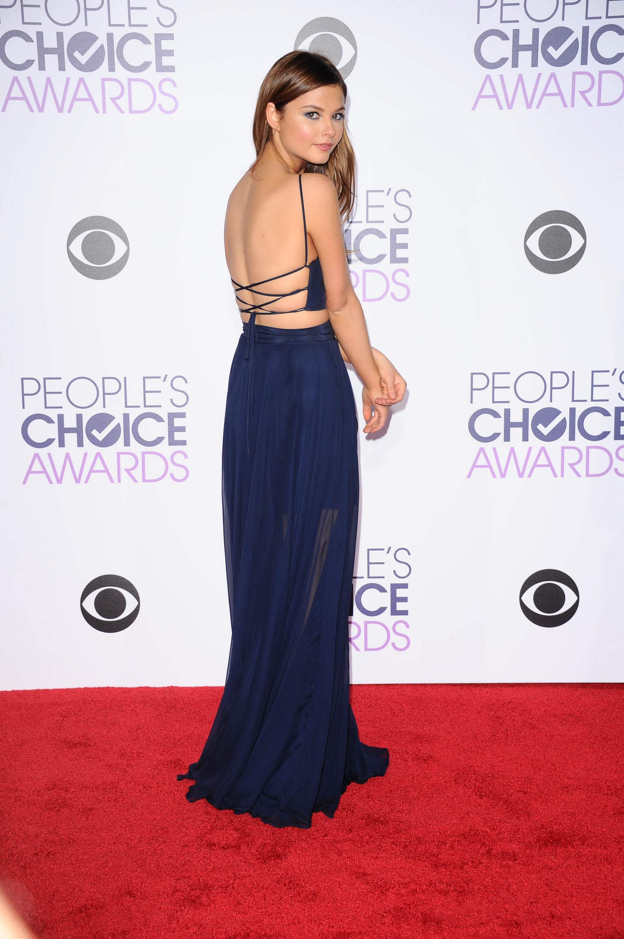 Stefanie Scott at Peoples Choice Awards on-3
