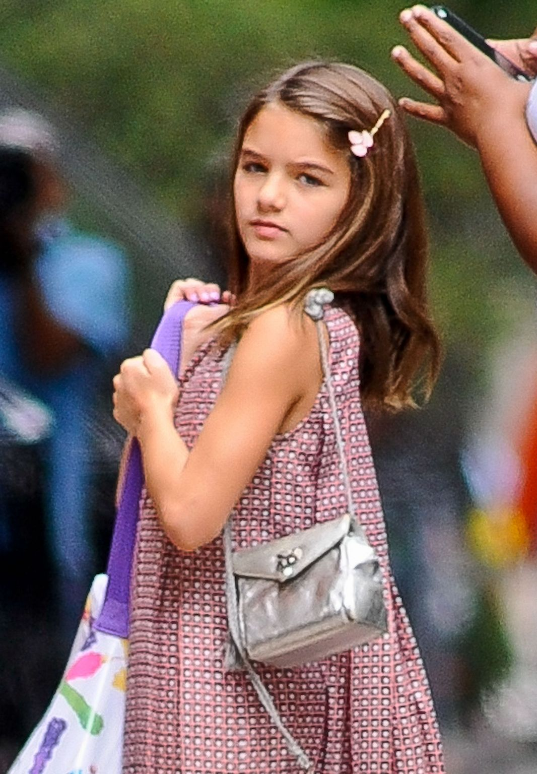 Suri Cruise in New York City – Celeb Donut